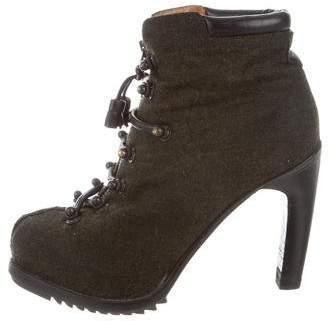 Rag & Bone Woven Platform Ankle Boots
