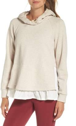 Kate Spade ruffle hoodie