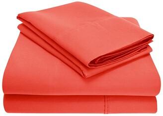 Home City 300Tc 100% Premium Long-Staple Combed Cotton Sheet Set