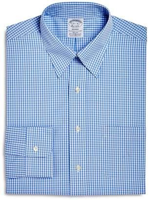 Brooks Brothers Gingham Regent Fit Dress Shirt