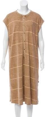 Oska Striped Sleeveless Dress
