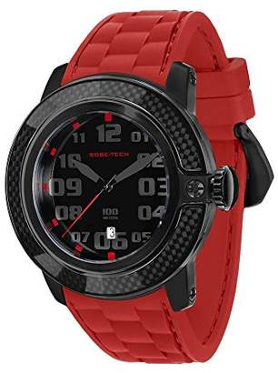 Glam Rock Men's GR33002 SoBe Dial Red Silicon Watch