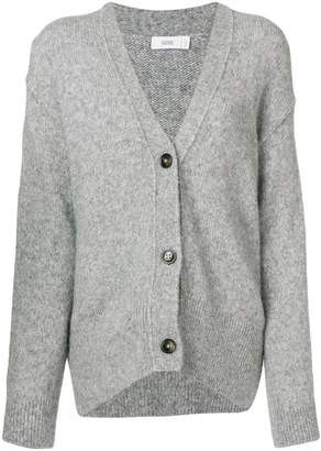 Closed buttoned cardigan