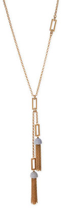 "Lulu Frost Ursula Tassel Chain Necklace, 31"" $238 thestylecure.com"