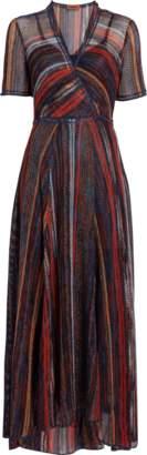 Missoni Deep V-Neck Maxi Dress