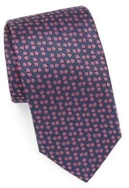 Charvet Small Pattern Silk Tie