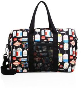 LeSportsac Global Nylon Weekender Bag $130 thestylecure.com