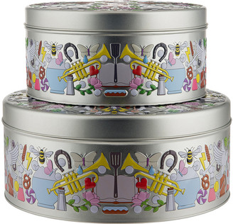 Alessi Garybaldi Tin - Set of 2
