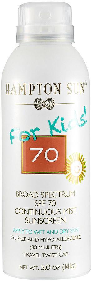 Hampton Sun Continuous Mist Sunscreen SPF 70 For Kids
