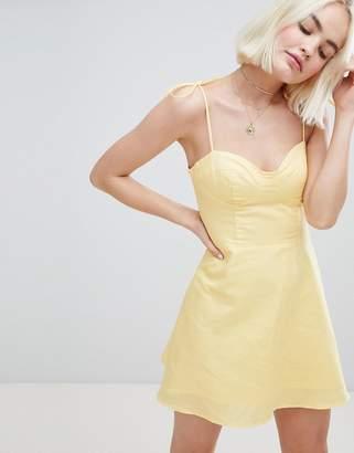 Emory Park Flippy Dress With Tie Cami Straps