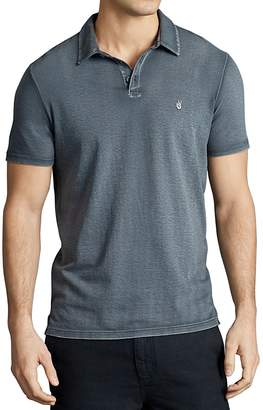 John Varvatos Star USA Peace Slim Fit Polo Shirt $88 thestylecure.com