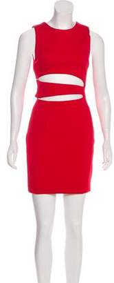 Cushnie et Ochs Neoprene Sleeveless Dress
