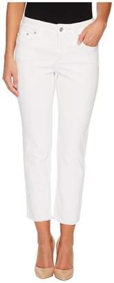 NYDJ Petite Petite Sheri Slim Ankle w/ Fray Hem Twill Women's Casual Pants