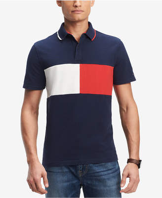 Tommy Hilfiger Men's Logo Classic Fit Polo, Created for Macy's