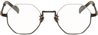 Yohji Yamamoto Black Hexagonal Glasses