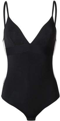 Paco Rabanne logo side panel bodysuit