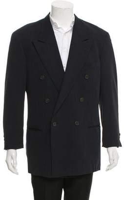 Giorgio Armani Wool Double-Breasted Blazer