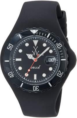Toy Watch Toy Women's JTB02BK Jelly Quartz Dial Plastic Dial Watch