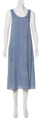 La Garçonne Moderne Sleeveless Midi Dress