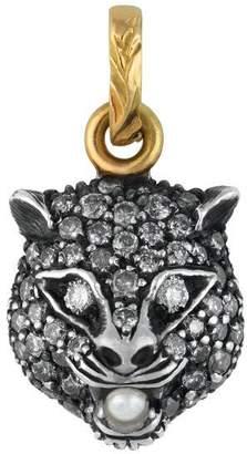 Gucci Le Marché des Merveilles charm with diamonds