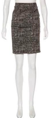 Samantha Sung Brushstroke Pencil Skirt