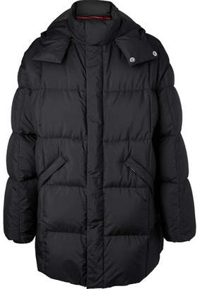 Prada Quilted Ripstop Hooded Down Jacket