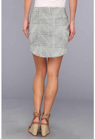 BCBGeneration Asymmetrical Mini Skirt UTO3E554