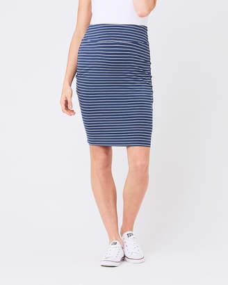 Ripe Maternity Mia Stripe Skirt