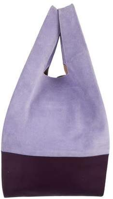 Hayward Suede & Leather Shopper Tote
