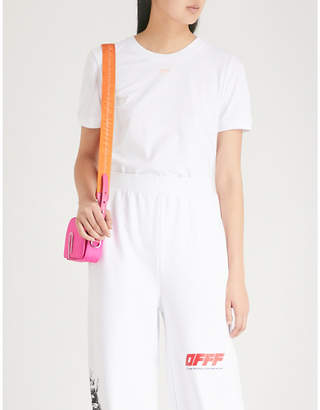 Off-White Strass-embellished cotton T-shirt
