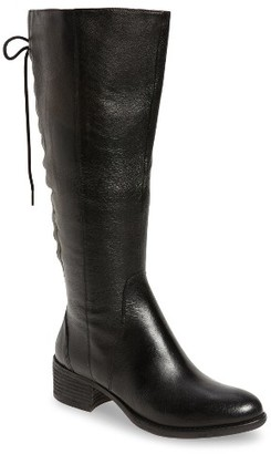 Women's Steve Madden Laceupp Knee High Boot $159.95 thestylecure.com