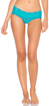 Calvin Klein Underwear ID Sheer Marq Hipster in Blue $22 thestylecure.com