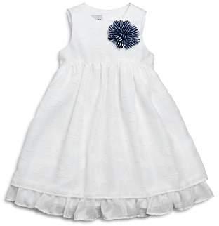 Pippa & Julie Girls' Textured Star Dress - Little Kid