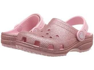 Crocs Classic Glitter Clog (Toddler/Little Kid)