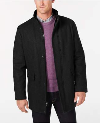 Calvin Klein Men Wool Blend Car Coat