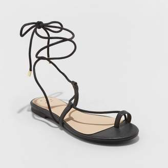 A New Day Women's Josie Faux Leather Gladiator Sandals