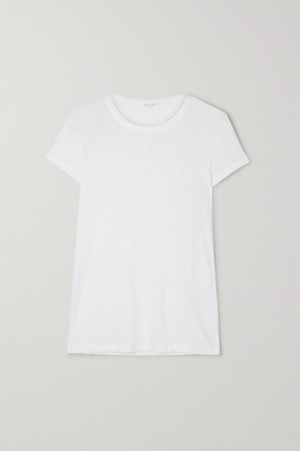 Rag & Bone The Tee Slub Pima Cotton-jersey T-shirt - White