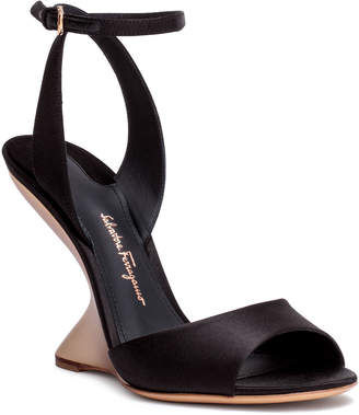 bc500e1f048 Salvatore Ferragamo Wedge Heel Women s Sandals - ShopStyle