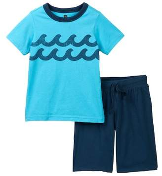 Tea Collection Bondi Tee & Shorts Set (Baby & Toddler Boys)