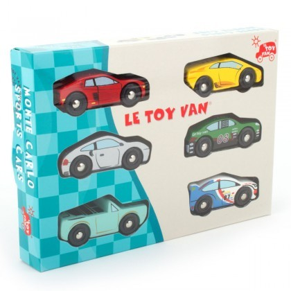 Le Toy Van Monte Carlo sports cars