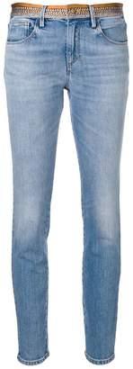 Roberto Cavalli python skinny jeans