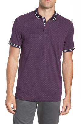 Ted Baker Museo Slim Fit Tipped Pique Polo
