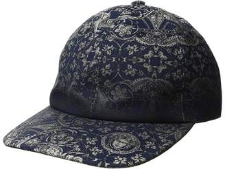 Versace Baroque Print Cap Caps