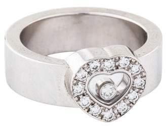 Chopard 18K Happy Diamonds Heart Ring