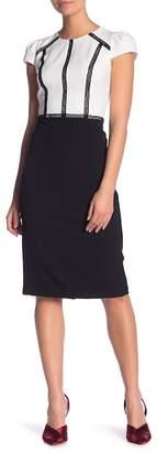 Maggy London Colorblock Sheath Dress