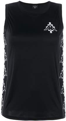 Marcelo Burlon County of Milan Kappa tapes tank top