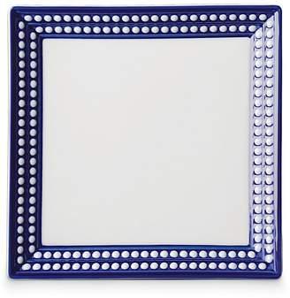 "L'OBJET Perlee Bleu 8"" Square Tray"
