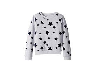 AG Adriano Goldschmied Kids French Terry Shirt with Flocking (Big Kids)