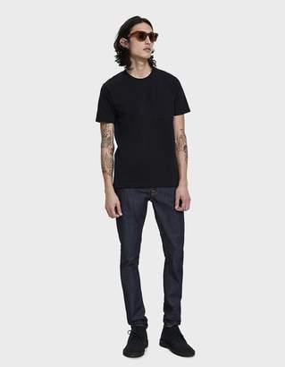 Nudie Jeans S/S Kurt Worker Tee in Black