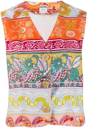Moschino Pre-Owned 1990's floral print vest